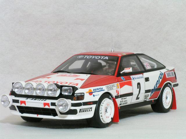 OTTO モデルス 1/18 スケール トヨタ セリカ ( ST165 ) 1991年 モンテカルロ ラリー 優勝車 #3 、 カルロス・サインツ / ルイス・モヤ