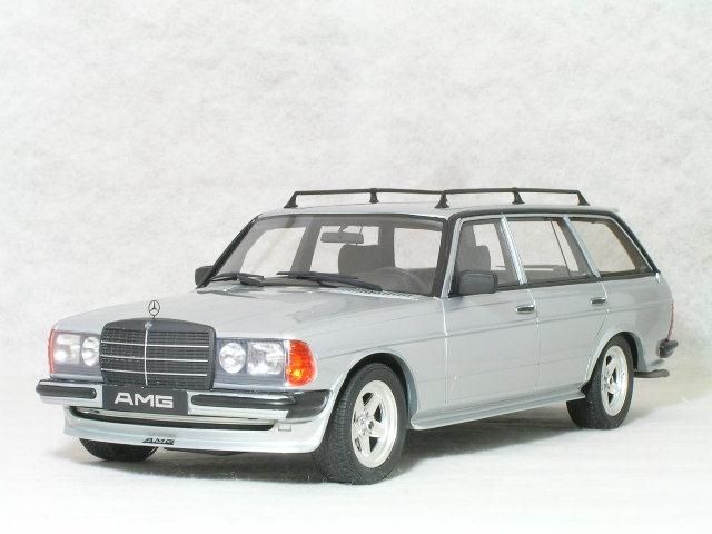 OTTO モデルス 1/18 スケール メルセデス ベンツ 280TE AMG (S 123 ) / シルバー