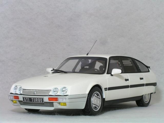 OTTO モデルス 1/18 スケール シトロエン CX 2.5 GTI ターボ 2 / ホワイト ( アルパイン ホワイト )