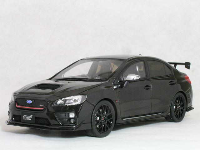 Kyosho 1/18 スバル WBX STi S207 NBR ( ニュル・ブルック・リンク )チャレンジ パケージ ブラック エディション
