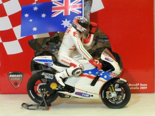 ミニチャンプス 1/12 ドゥカティ デスモセデッチ GP09 モトGP 2009年 オーストラリア GP 優勝 ケーシー・ストーナー