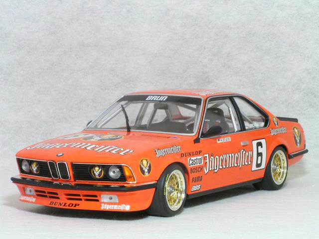 ミニチャンプス 1/18 BMW 635 CSi イエガーマイスター / 1984年 ゾルダー DPM ハンス・スタック