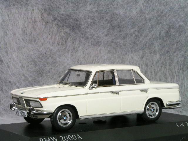 ミニチャンプス 1/43 BMW 2000A / 1962年 ホワイト