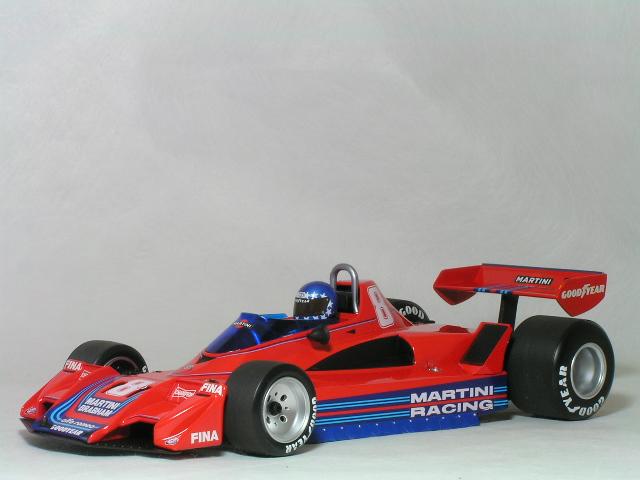 ミニチャンプス 1/18 ブラバム アルファ ロメオ BT45B 1977年 / ハンス ヨアヒム・スタック マルティーニ レーシング