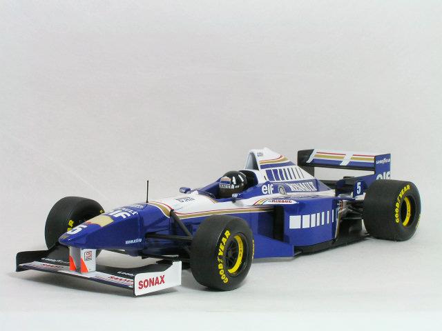 ミニチャンプス 1/18 ウイリアムズ ルノー FW18 / デーモン・ヒル 1996年 ワールド チャンピオン