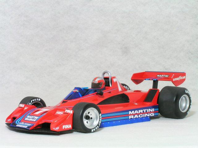 ミニチャンプス 1/18 ブラバム アルファ ロメオ BT45B 1977年 / ジョン・ワトソン マルティーニ レーシング