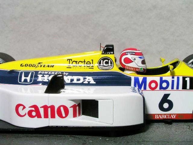 ミニチャンプス 1/18 ウイリアムズ FW11B / ネルソン・ピケ 1978年 日本グランプリ / ワールド・チャンピオン