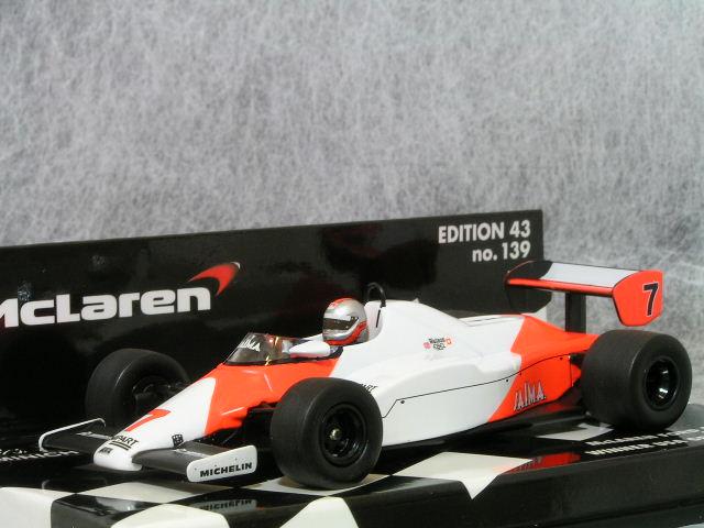 ミニチャンプス 1/43 マクラーレン フォード MP4/1C ジョン・ワトソン、1983年 USA GP 優勝車