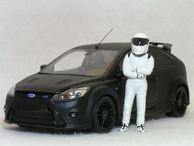 ミニチャンプス 1/18 トップ ギヤ パワーラップ シリーズ / フォード フォーカス RS500
