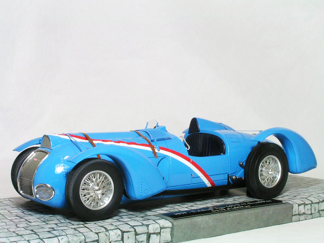 ミニチャンプス 新作販売 ハイエンド 配送員設置送料無料 モデル 限定:1 002台 1 18 グランプリ タイプ フレンチブルー 1937年 145 V-12 ドライエ