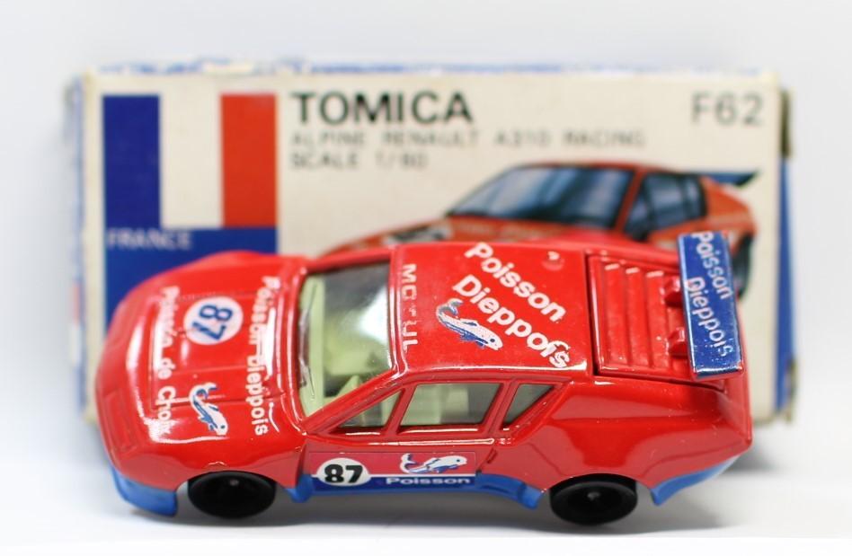 トミカ 青箱 F62 アルピーヌ ルノーA310 レーシング 1/60  本体スレあり2400010016806