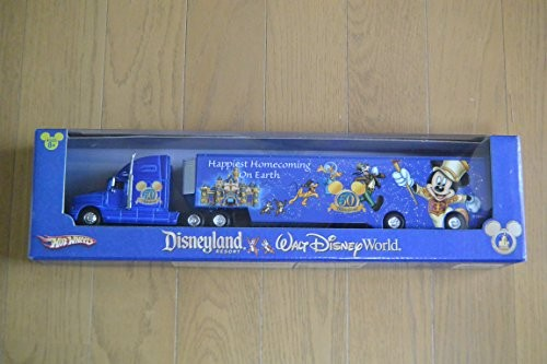HotWheels  全長36cm Disneyland WALT Disney World 50周年記念トレーラ