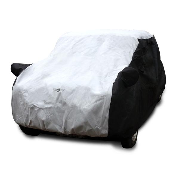 【送料無料!】ローバーミニ専用ボディカバー ブラックシリーズ屋内用(BAG付)