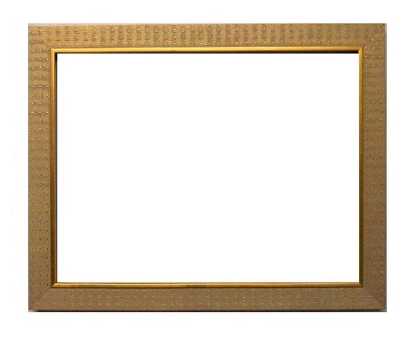 額縁アンティークおしゃれフレーム金B-20171額縁寸法 太子(379mm×288mm/窓枠寸法約369mm×278mm 2mmアクリル/裏板付/壁掛け用/箱付き完品