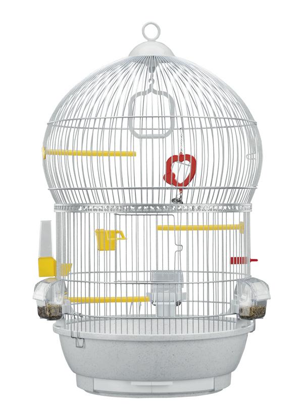 【即日発送!送料無料】イタリアferplast社製鳥かご バリ ホワイト