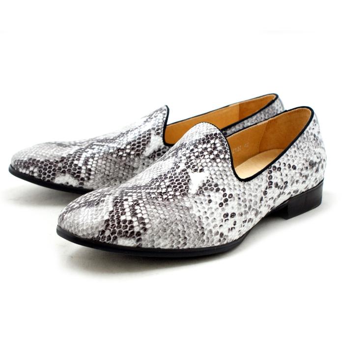 ●● ラウディ 靴 カジュアル オペラパンプ ヴァンプ RAUDI R52107 〔ホワイトスネイク〕 メンズ 男性用 靴 通販 men's 2015SS