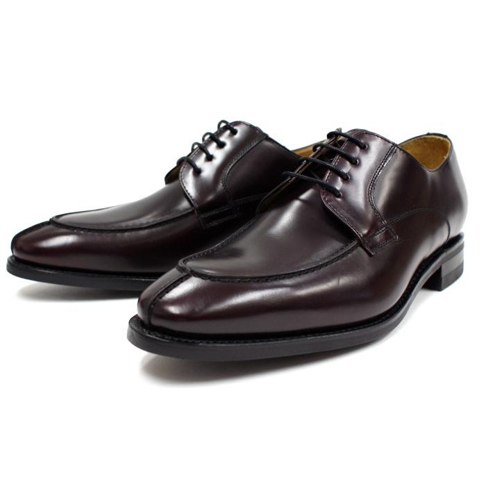 バーウィック Uチップシューズ Berwick 靴 2686 バーガンディー ダイナイトソール スペイン製 ビジネスシューズ メンズ 本革 送料無料 【あす楽対応】