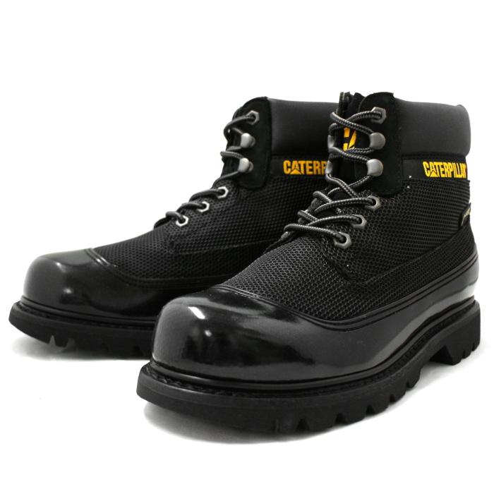 Caterpillar boots men s CATERPILLAR COLORADO GTX MESH P718935  BLACK   Colorado water resistant mesh Gore-Tex boots black leather men s boots by  2015 ... b03f8ee2b4