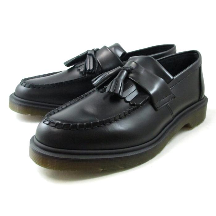 ドクターマーチン ローファー タッセル Dr.Martens ADRIAN 14573001 ブラック メンズ 本革 men'shoes 送料無料 靴 通販