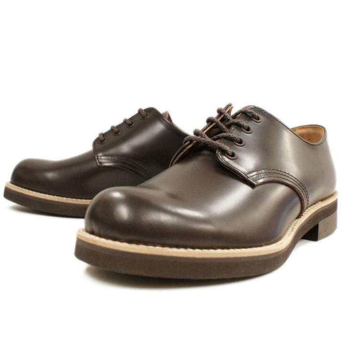 Locking Shoes ロッキングシューズ by FootMonkey フットモンキー PLAIN TOE OXFORD 1030 ダークブラウン プレーントゥシューズ オックスフォード メンズ 短靴 ローカット 日本製 MADE IN JAPAN 送料無料