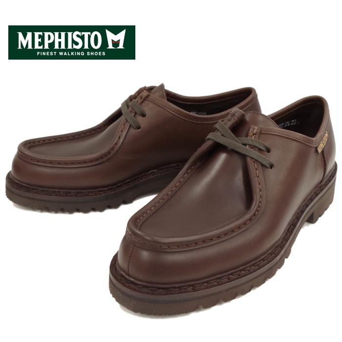 メフィスト MEPHISTO PEPPO 351 TIROLEAN SHOES チロリアンシューズ [DARK BROWN] ブーツ メンズ レザー モカシン モックトゥ フランス製 送料無料