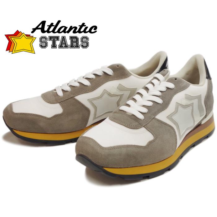 Atlantic STARS アトランティックスターズ メンズ スニーカー ANTARES アンタレス BIANCO レザー カジュアル シューズ ローカット 靴 men's sneaker 送料無料 2019春夏新作 【あす楽対応】