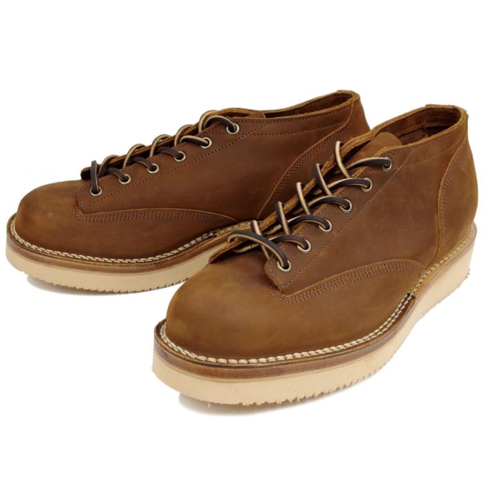 ヴァイバーグ VIBERG ブーツ ヴィバーグ ビバーグ LACE TO TOE OXFORD 〔AGED BARK〕 ヌバック レザー Vibram ビブラム ブーツ BOOTS 送料無料 【あす楽対応】