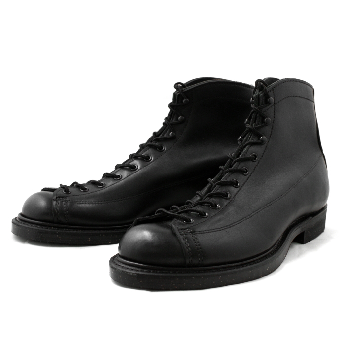 black red wing boots