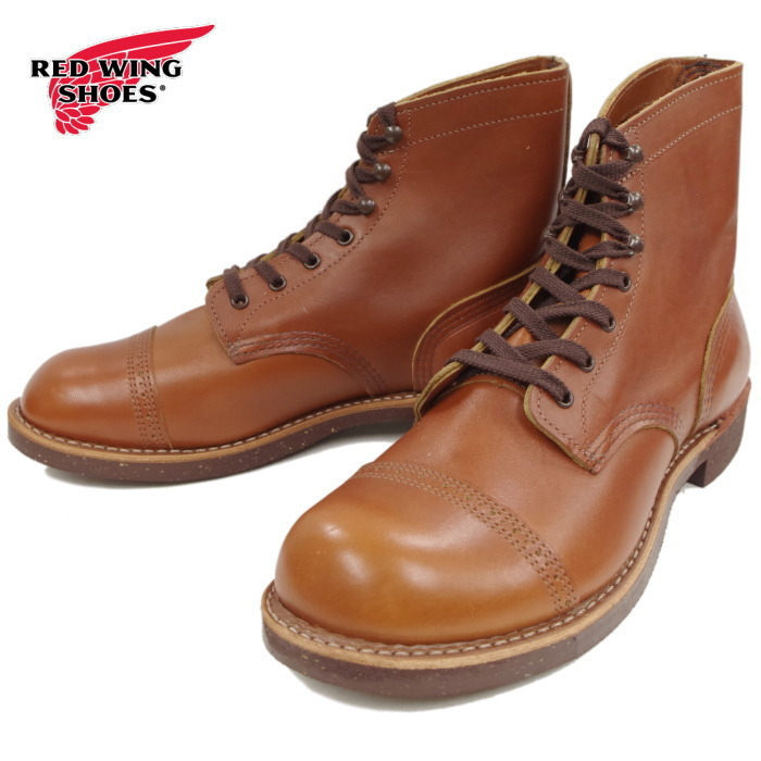 レッドウィング アイアンレンジ マンソン 正規品 RED WING IRON RANGE MANSON 8011 [ホワイトアッシュ・セトラー] ブーツ メンズ ワークブーツ 送料無料【交換片道送料無料】【純正ケア用品付】