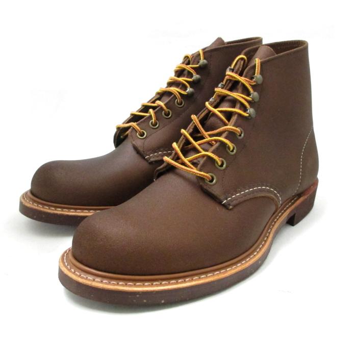 レッドウィング 8015 REDWING Blacksmith ブラックスミス ワークブーツ 〔ブラウン スピットファイヤー〕 レッドウイング RED WING BOOTS men's boots 送料無料【交換片道送料無料】【純正ケア用品付】