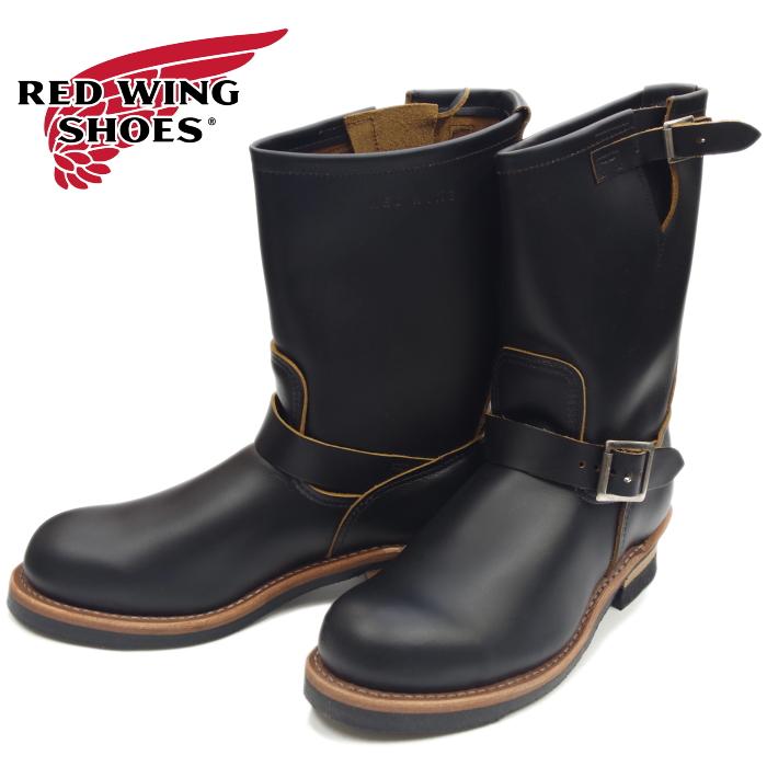 最高の レッドウィング エンジニアブーツ RED WING 9268 [Black