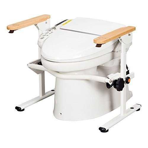 【代引不可】洋式トイレ用 ベストサポート手すり 肘掛け固定 627-020<シコク>