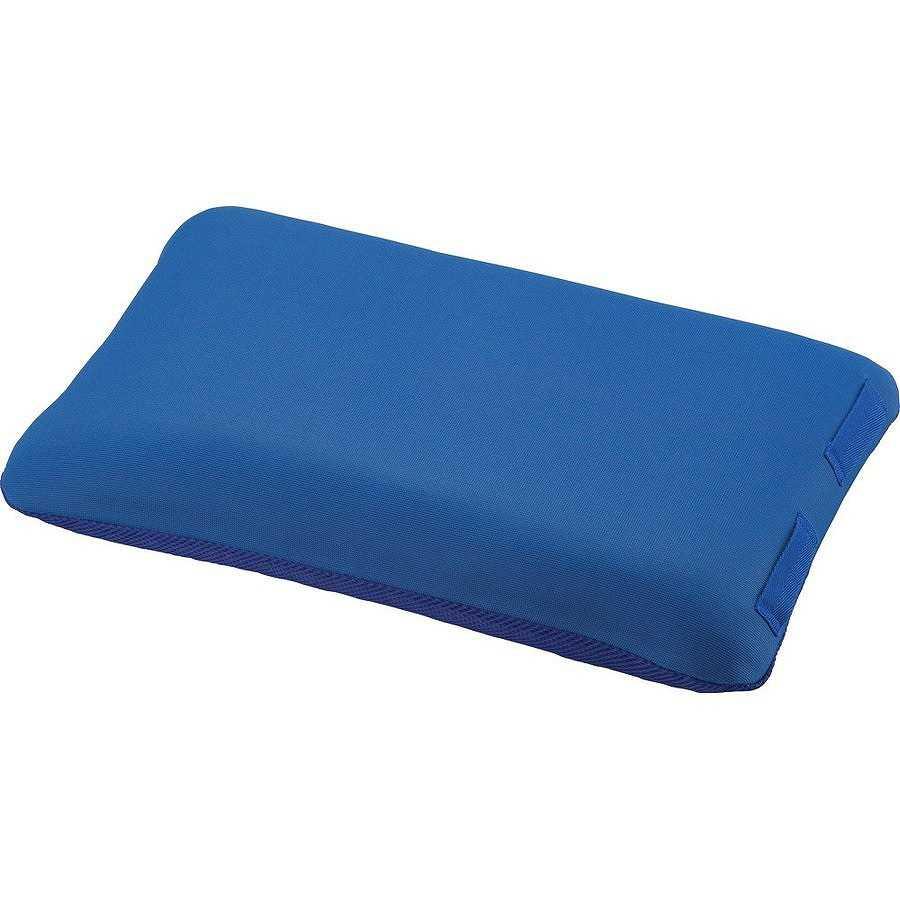 正規品送料無料 返品不可 入浴サポートクッション2 枕型大 ブルー 1126-A エンゼル