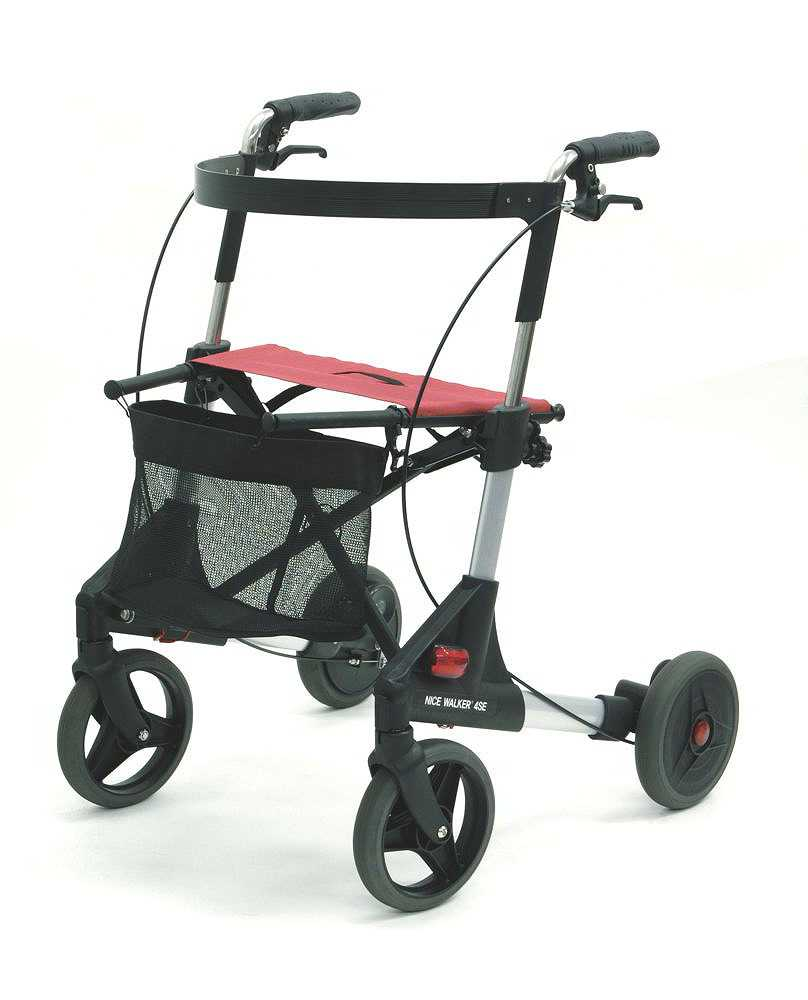 歩行車 ナイスウォーカー 4輪タイプ 2020モデル ケアネット まとめ買い特価 アビリティーズ 869001