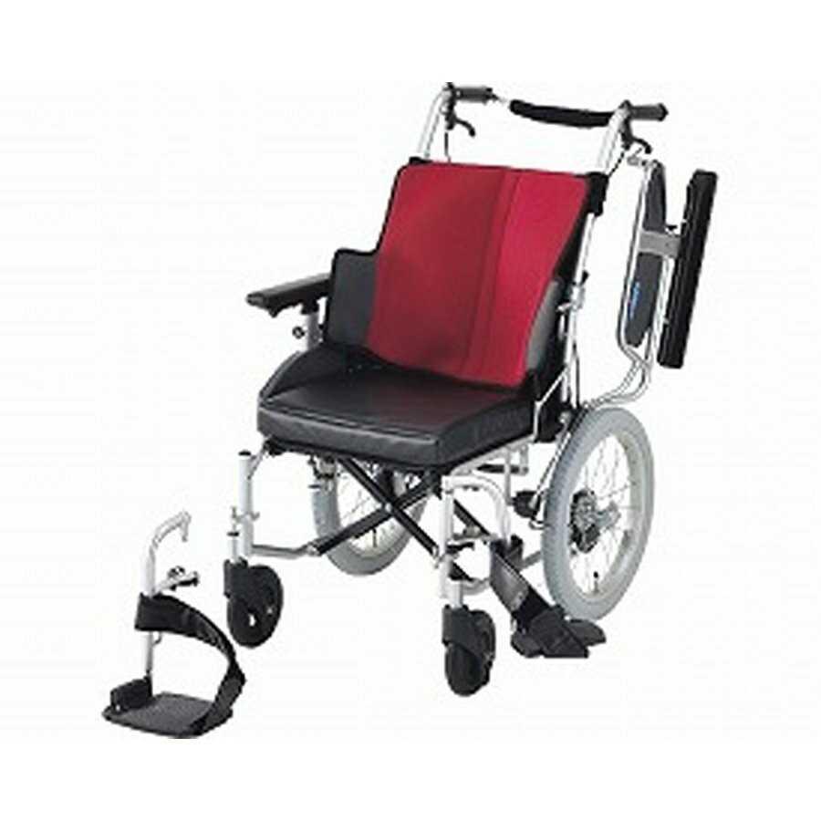 【お買い得!】 車椅子(介助式) 座王 NAH-521W 座幅40cm ワインレッド<日進医療器>, STAGE ONE 023b483d