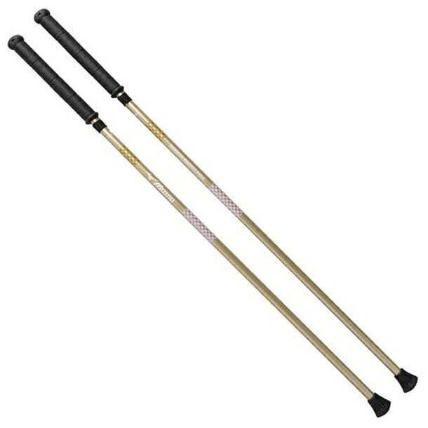 マイティポール ショートタイプ 新品未使用 2本1組 ゴールド C3JTP74050 高級な ミズノ
