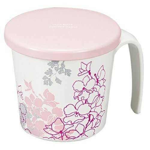現品 カトレア 蓋付らくらくカップ 72390 ピンク カノー 低廉