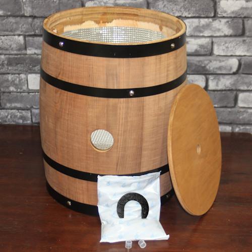樽型サーバー(ボックスワイン用)タテ型穴1