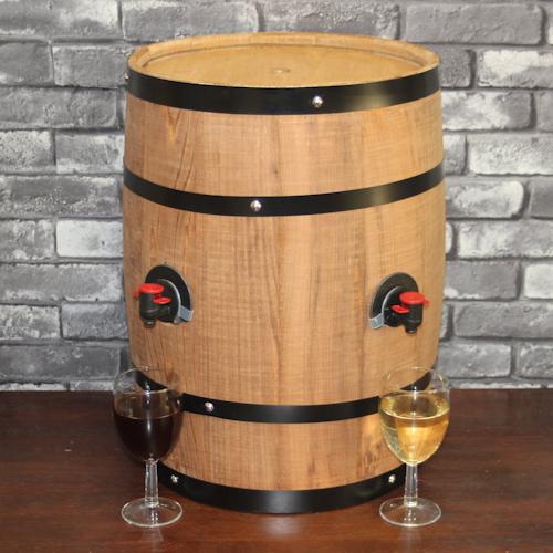 樽型サーバー(ボックスワイン用)タテ型穴2