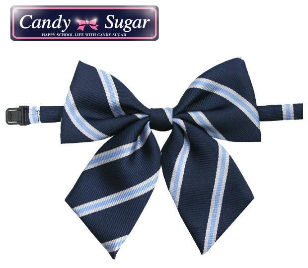 スクールリボン ストライプ Candy アウトレットセール 特集 キャンディーシュガー Sugar お気に入