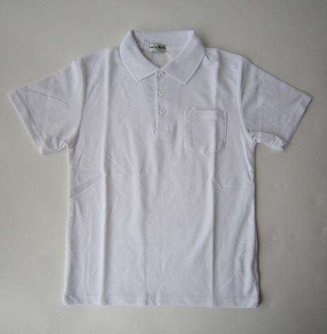メーカー在庫限り品 交換無料 男女兼用 スクールポロシャツ in Bud