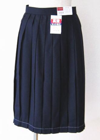 スカート(セーラー服上衣別売り)トンボ学生服 TOMBOWウール50%/ポリエステル50%