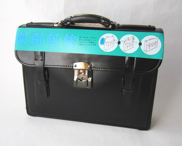 学生鞄 【開閉明快】クラリーノでお手入れ簡単♪ クラリーノ(ソフトスムース)