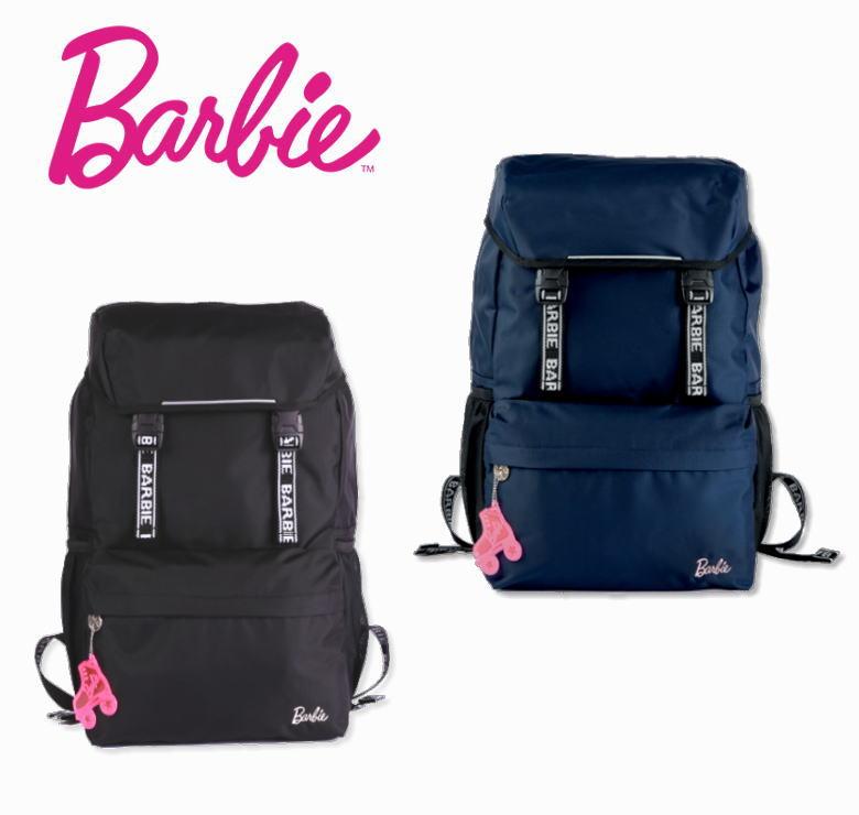 Barbie バービー フラップディパック/リュック/スクールバッグ/大容量27L/部活/通学鞄/高校生/中学生