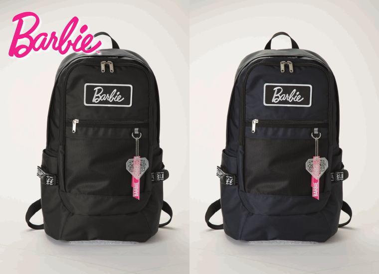 【トートバッグプレゼント】Barbie バービー フロントメッシュポケット デイパック リュック ディパック スクールバッグ スクールリュック 通学バッグ 部活 通学鞄 バッグ 学生 高校生 中学生