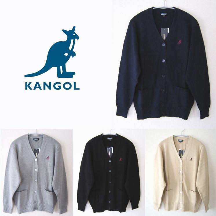 KANGOL カンゴール コットンカーディガン 制服 学生 発売モデル 通信販売 カジュアル スクールカーディガン