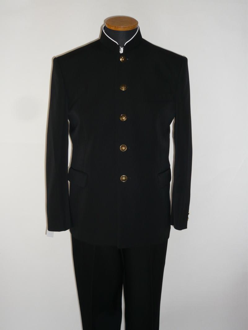 標準型学生服(上衣)トンボMAX/ウール50%・ポリエステル50%レギュラーカラー/ソフトインカラー 185A~195A