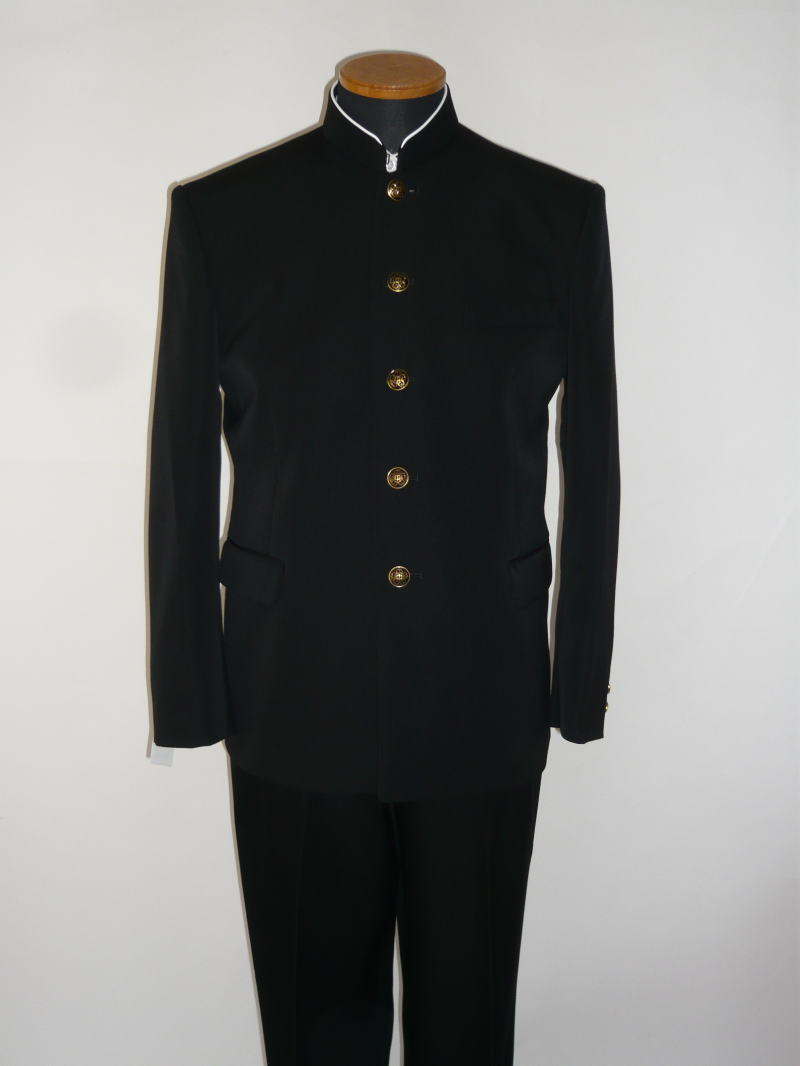 【B体】標準型学生服(上衣)トンボMAX/ウール50%・ポリエステル50%レギュラーカラー/ソフトインカラー 165B~190B