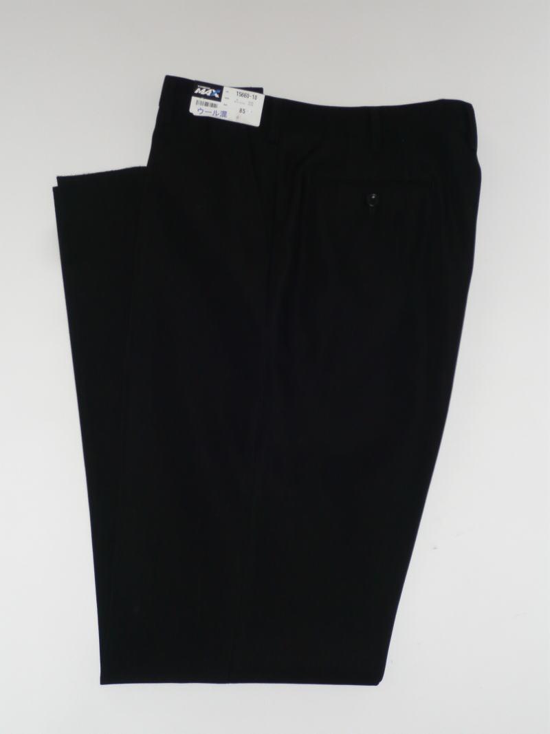 ワンタックスラックス15661 W88~W100トンボMAX50 トンボ学生服