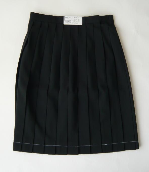 夏スカート(黒) オリーブデオリーブスクールウール50%/ポリエステル50%